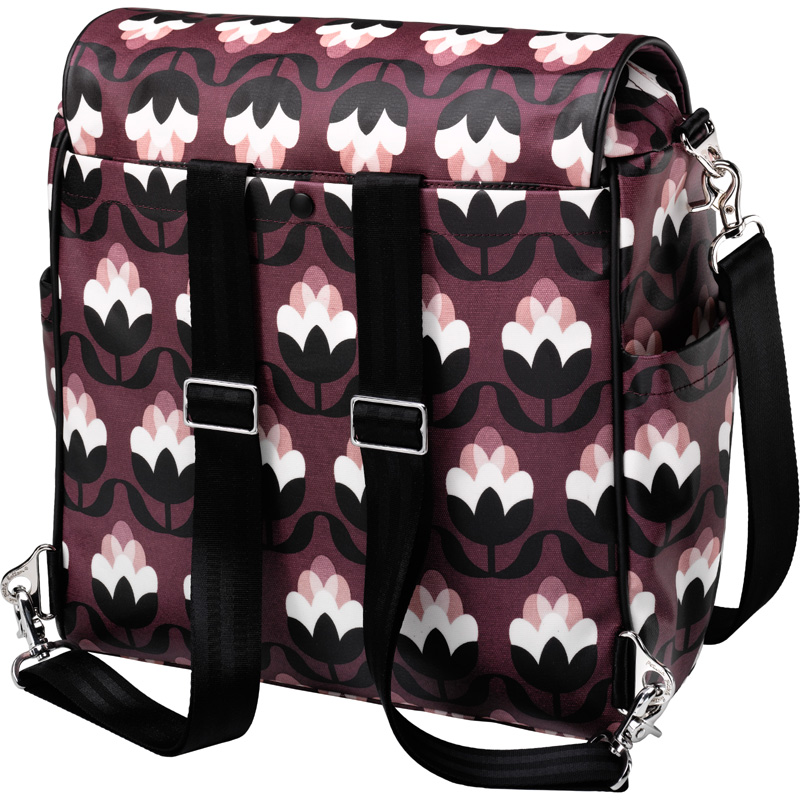 boxy backpack diaper bag tuscan twilight by petunia. Black Bedroom Furniture Sets. Home Design Ideas