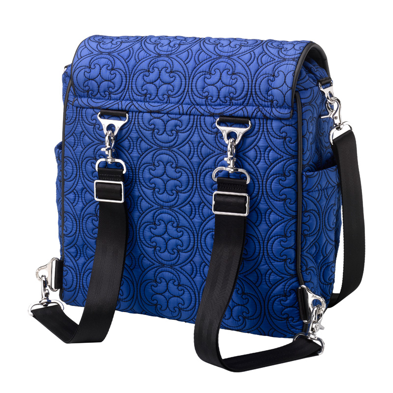 boxy backpack diaper bag westminster stop by petunia. Black Bedroom Furniture Sets. Home Design Ideas