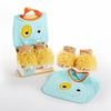 Boy Chomp & Stomp Monster Bib and Booties Gift Set