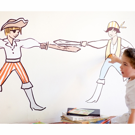 Boy Pirates Wall Decals