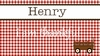 Boy's Gingham Personalized Placemat