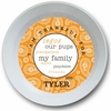 Boy's Paisley Personalized Bowl