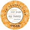 Boy's Paisley Personalized Melamine Plate