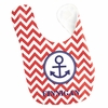 Boys Anchor Personalized Bib