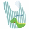 Boys Dinosaur Personalized Bib