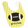 Boys Football Personalized Bib