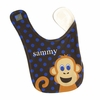 Boys Monkey Personalized Bib