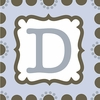 Boys Monogram Canvas Reproduction - D