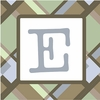 Boys Monogram Canvas Reproduction - E