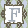 Boys Monogram Canvas Reproduction - F