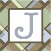 Boys Monogram Canvas Reproduction - J
