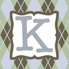 Boys Monogram Canvas Reproduction - K