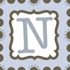 Boys Monogram Canvas Reproduction - N