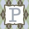 Boys Monogram Canvas Reproduction - P