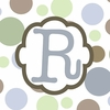Boys Monogram Canvas Reproduction - R