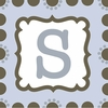 Boys Monogram Canvas Reproduction - S