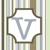 Boys Monogram Canvas Reproduction - V