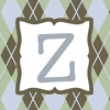 Boys Monogram Canvas Reproduction - Z