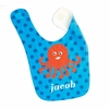 Boys Octopus Personalized Bib