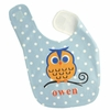 Boys Owl Personalized Bib
