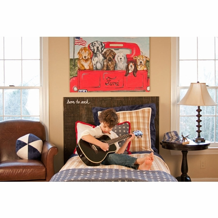 Boys R Back 3 Piece Custom Bedding Set
