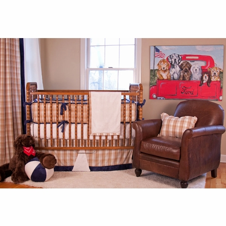 Boys R Back Custom Crib Bedding Set