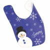 Boys Snowman Personalized Bib