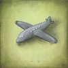 Boys Toys - Airplane Canvas Wall Art