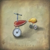 Boys Toys - Trike Canvas Wall Art