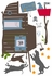 Boys Treehouse Peel & Stick Wall Decals