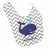 Boys Whale Personalized Bib