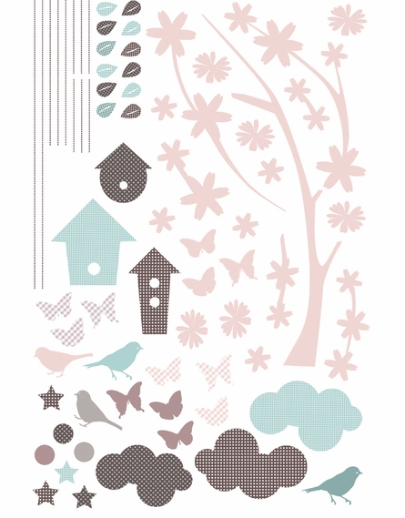 Branch & Nest Peel & Stick Wall Decals