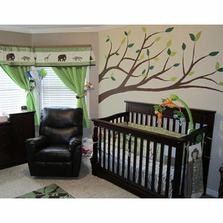 Branches Paint by Number Wall Mural