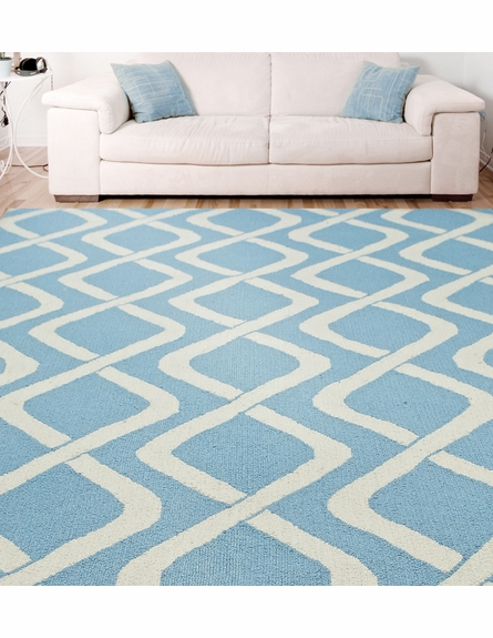 Brandon Rug in Blue