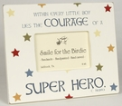 Brave and Bold Super Hero Tabletop Picture Frame