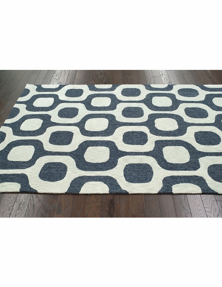 Brazil Cotton Rug in Denim