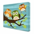 Breezy Day Owls Canvas Reproduction