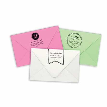 Brentwood Personalized Self-Inking Stamp