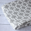 Bright Baby Gray Changing Pad Cover