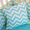Bright Baby Gray Square Pillow Cover