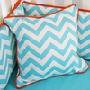 Bright Baby Green Square Pillow Cover