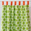 Bright Baby Green Window Panels