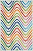 Bright Dot Wave Gracie Rug