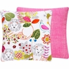 Bright Jungle Throw Pillow