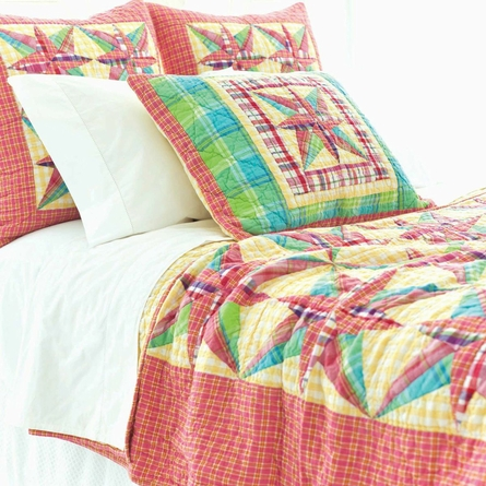 Bright Patchwork Quilt