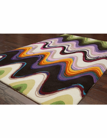 Bright Watercolor Rug