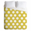 Brightest Chartreuse Luxe Duvet Cover