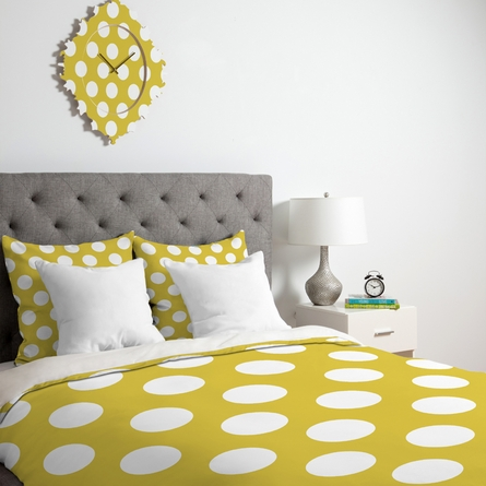 Brightest Chartreuse Duvet Cover