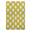 Brightest Chartreuse Flat Weave Rug