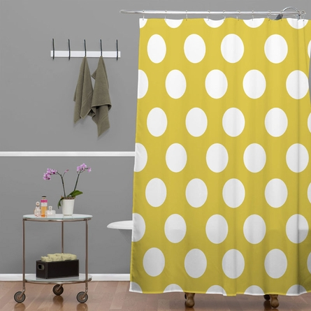 Brightest Chartreuse Shower Curtain